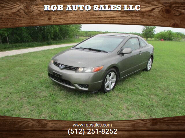 2007 Honda Civic for sale at RGB AUTO SALES LLC in Manor TX