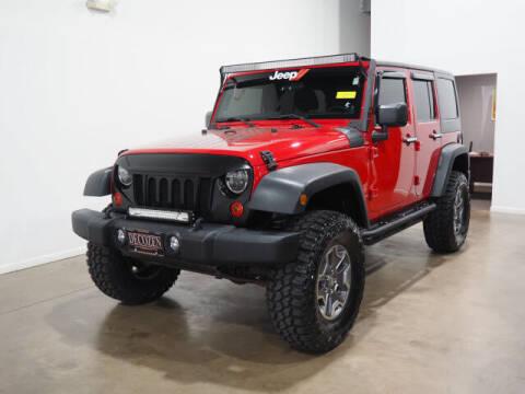 2011 Jeep Wrangler Unlimited for sale at Montclair Motor Car in Montclair NJ