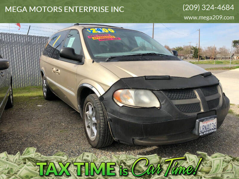 2001 Dodge Grand Caravan for sale at MEGA MOTORS ENTERPRISE INC in Modesto CA