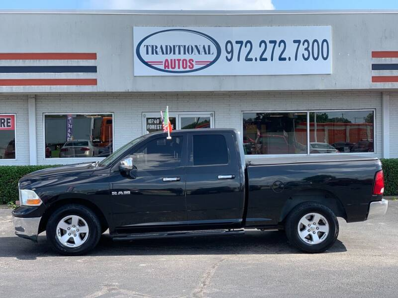 2010 Dodge Ram Pickup 1500 for sale at Traditional Autos in Dallas TX