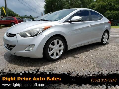 2013 Hyundai Elantra for sale at Right Price Auto Sales in Waldo FL