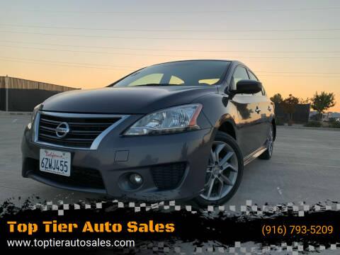 2013 Nissan Sentra for sale at Top Tier Auto Sales in Sacramento CA