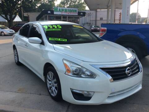 2015 Nissan Altima for sale at Harrison Family Motors in Topeka KS