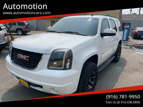 2011 GMC Yukon for sale at Automotion in Roseville CA