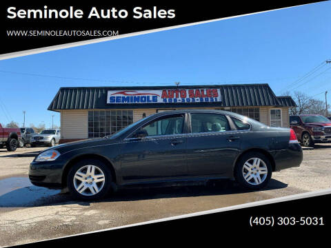 2016 Chevrolet Impala Limited for sale at Seminole Auto Sales in Seminole OK
