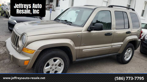 2006 Jeep Liberty for sale at Jeffreys Auto Resale, Inc in Clinton Township MI