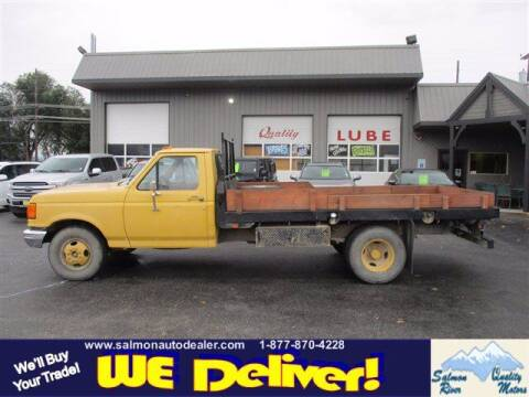 1991 Ford F-350 for sale at QUALITY MOTORS in Salmon ID