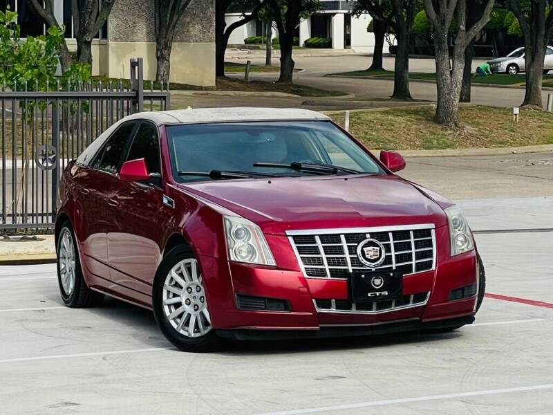 2013 Cadillac CTS for sale at Texas Drive Auto in Dallas TX