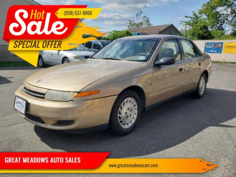 2002 Saturn L-Series for sale at GREAT MEADOWS AUTO SALES in Great Meadows NJ