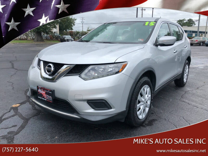 2015 Nissan Rogue for sale at Mike's Auto Sales INC in Chesapeake VA