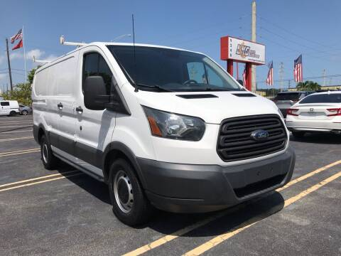 2016 Ford Transit Cargo for sale at LKG Auto Sales Inc in Miami FL