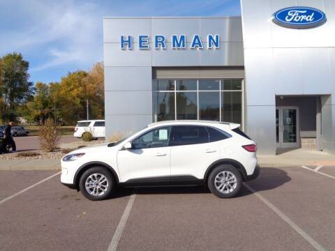 2020 Ford Escape for sale at Herman Motors in Luverne MN