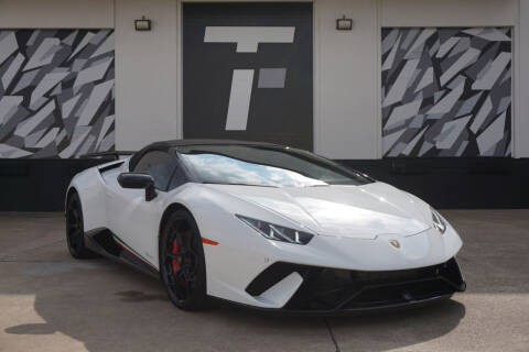 2019 Lamborghini Huracan for sale at Tactical Fleet in Addison TX