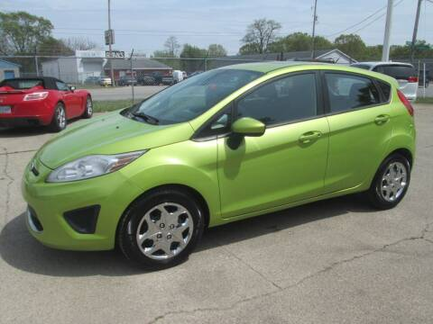 2012 Ford Fiesta for sale at Jims Auto Sales in Muskegon MI