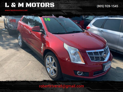 2010 Cadillac SRX for sale at L & M MOTORS in Santa Maria CA