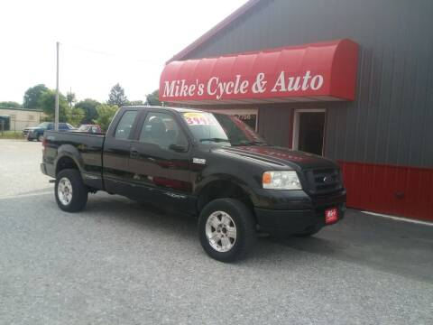 2005 Ford F-150 for sale at MIKE'S CYCLE & AUTO in Connersville IN