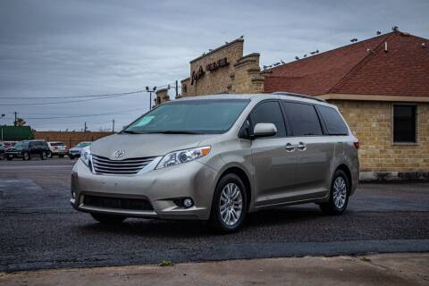2017 Toyota Sienna for sale at Jerrys Auto Sales in San Benito TX