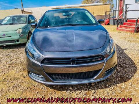 2016 Dodge Dart for sale at MAGNA CUM LAUDE AUTO COMPANY in Lubbock TX