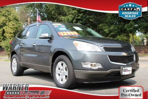 2012 Chevrolet Traverse for sale at Warner Motors in East Orange NJ