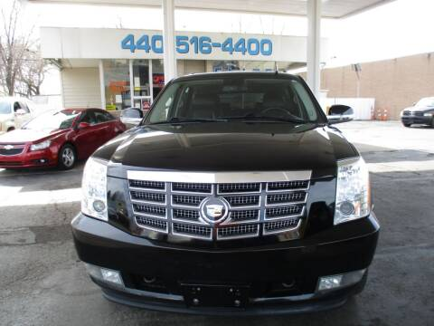 2012 Cadillac Escalade for sale at Elite Auto Sales in Willowick OH