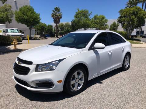 2016 Chevrolet Cruze Limited for sale at Trade In Auto Sales in Van Nuys CA