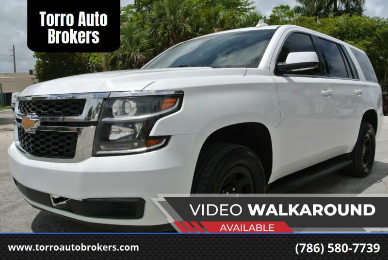 2017 Chevrolet Tahoe for sale at Torro Auto Brokers in Miami FL