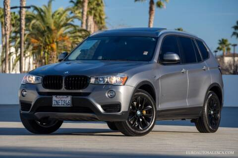 2016 BMW X3 for sale at Euro Auto Sales in Santa Clara CA