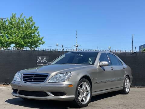 2005 Mercedes-Benz S-Class for sale at AutoAffari LLC in Sacramento CA