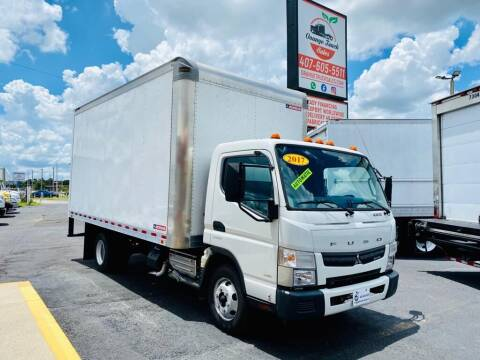 2017 Mitsubishi Fuso FEC72S for sale at Orange Truck Sales in Orlando FL