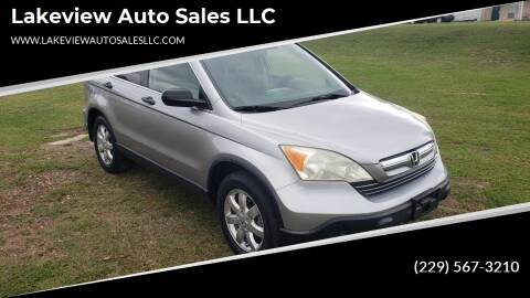 2007 Honda CR-V for sale at Lakeview Auto Sales LLC in Sycamore GA