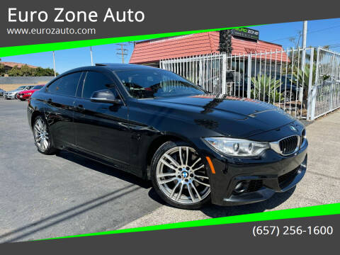 2016 BMW 4 Series for sale at Euro Zone Auto in Stanton CA