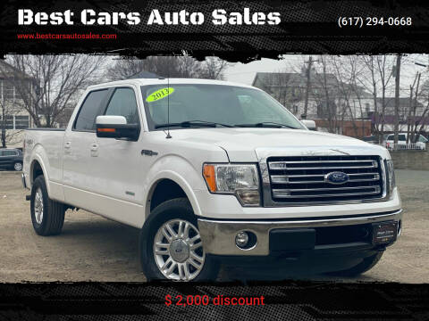 2013 Ford F-150 for sale at Best Cars Auto Sales in Everett MA