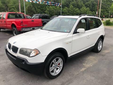 2004 BMW X3 for sale at INTERNATIONAL AUTO SALES LLC in Latrobe PA