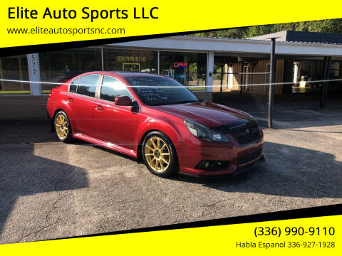 2013 Subaru Legacy for sale at Elite Auto Sports LLC in Wilkesboro NC