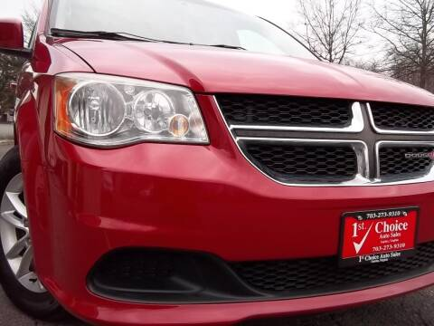2013 Dodge Grand Caravan for sale at 1st Choice Auto Sales in Fairfax VA