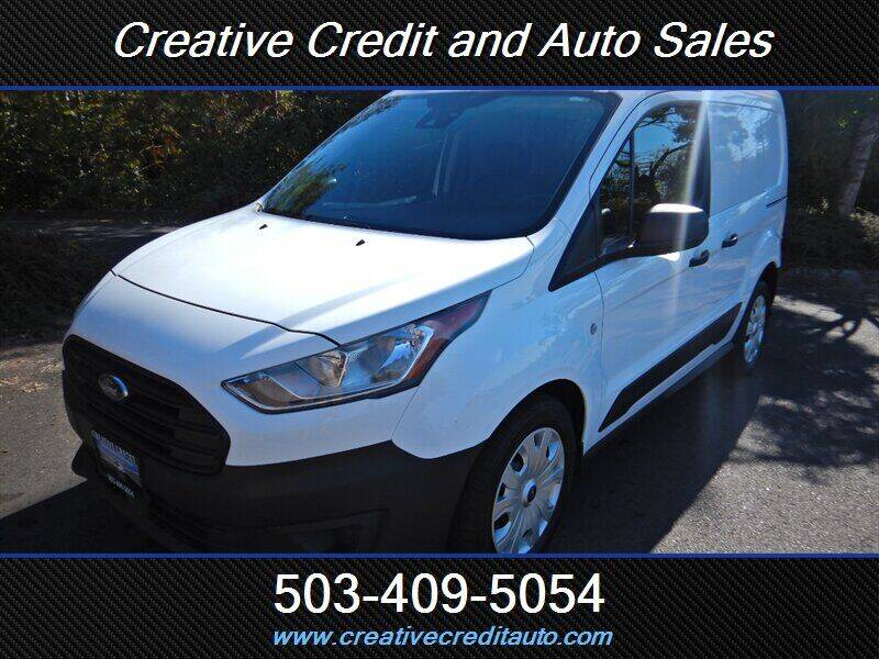 2019 Ford Transit Connect Cargo for sale at Creative Credit & Auto Sales in Salem OR