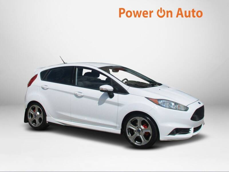 2015 Ford Fiesta for sale at Power On Auto LLC in Monroe NC