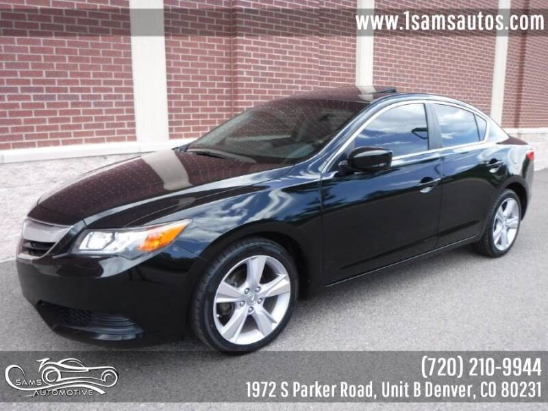 2015 Acura ILX for sale at SAM'S AUTOMOTIVE in Denver CO