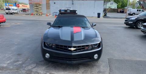 2012 Chevrolet Camaro for sale at L.A. Automotive Sales in Lackawanna NY