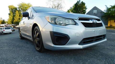 2013 Subaru Impreza for sale at Action Automotive Service LLC in Hudson NY