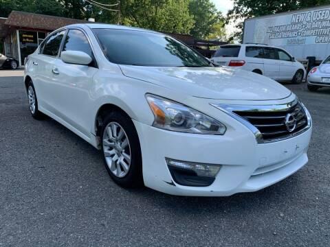 2015 Nissan Altima for sale at D & M Discount Auto Sales in Stafford VA