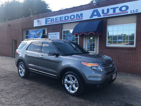 2013 Ford Explorer for sale at FREEDOM AUTO LLC in Wilkesboro NC