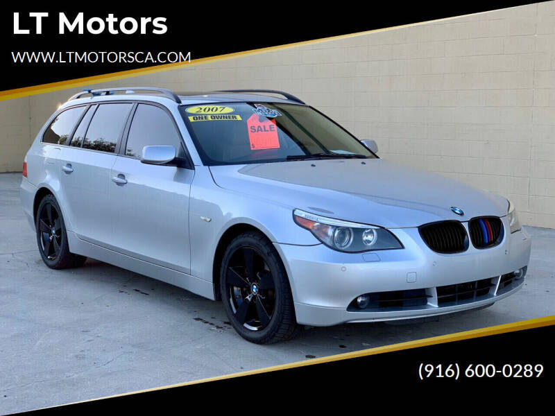 2007 BMW 5 Series for sale at LT Motors in Rancho Cordova CA