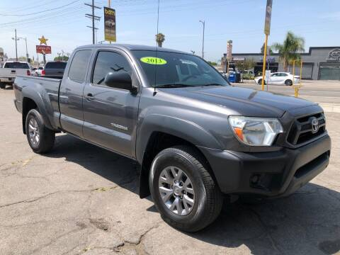 2013 Toyota Tacoma for sale at BEST DEAL MOTORS  INC. CARS AND TRUCKS FOR SALE in Sun Valley CA
