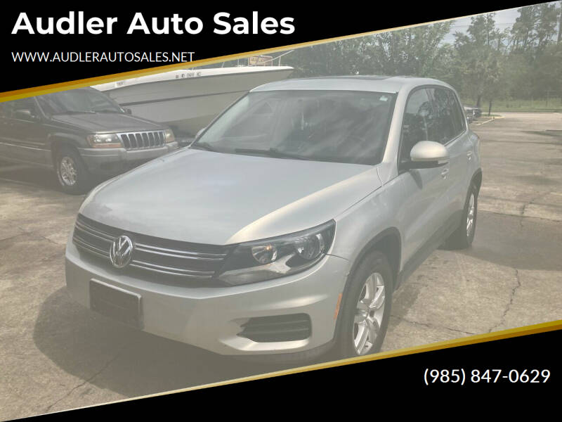 2013 Volkswagen Tiguan for sale at Audler Auto Sales in Slidell LA