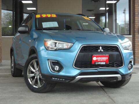 2013 Mitsubishi Outlander Sport for sale at Arandas Auto Sales in Milwaukee WI