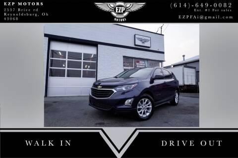 2018 Chevrolet Equinox for sale at EZP Motors in Reynoldsburg OH