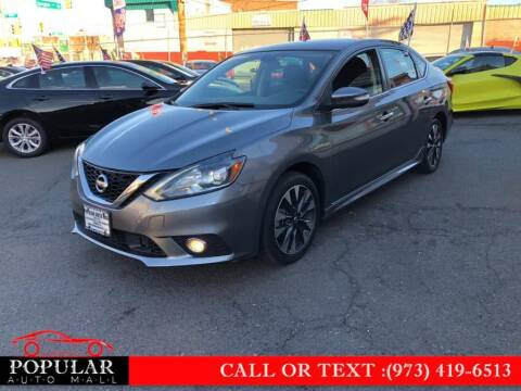 2019 Nissan Sentra for sale at Popular Auto Mall Inc in Newark NJ