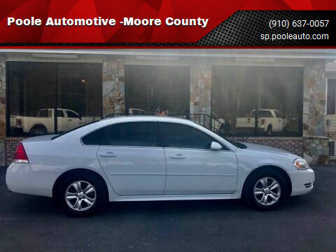 2015 Chevrolet Impala Limited for sale at Poole Automotive -Moore County in Aberdeen NC