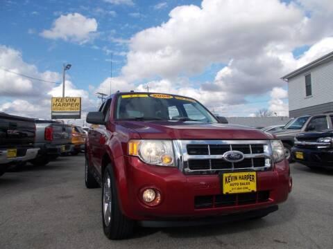 2008 Ford Escape for sale at Kevin Harper Auto Sales in Mount Zion IL
